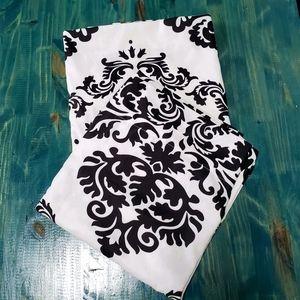 Curtains black & white EUC